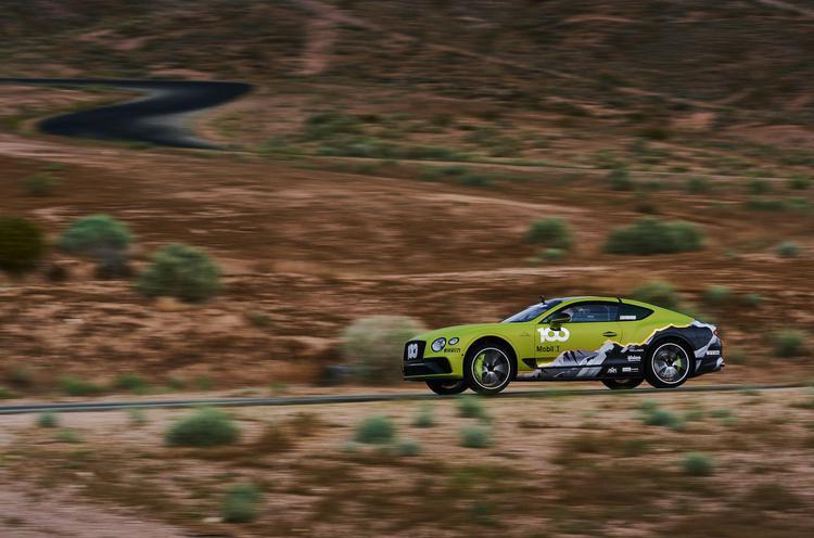 Britanska blagovna znamka Bentley je predstavila posebno različico coupe Continental GT, ki bo tekmovala za naziv najhitrejšega avtomobila dirke Pikes Peak